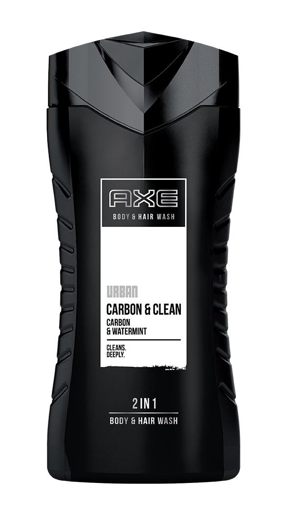 Axe Urban Carbon Clean 2v1 sprchový gel a šampon 250 ml