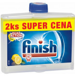 Calgonit Finish Čistič myčky Lemon 2x250 ml