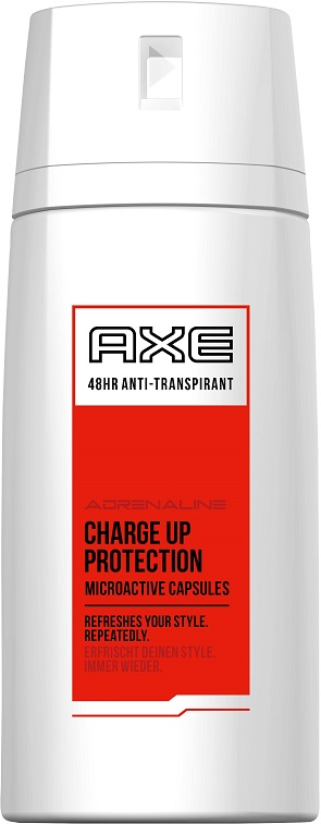 Axe Adrenaline Charge Up protection antiperspirant 150 ml