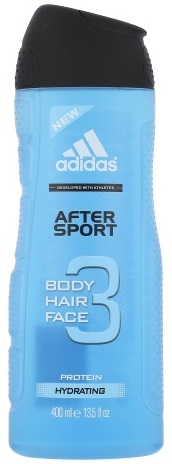 Adidas After Sport sprchový gel 3v1 400ml