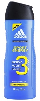Adidas Sport Energy sprchový gel 3v1 400ml