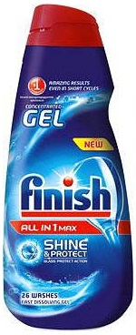 Calgonit Finish Gel All-in-one Max Shine 650ml