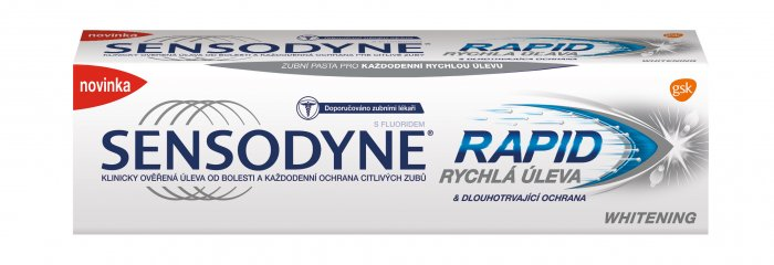 Sensodyne Rapid Whitening 75 ml