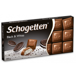 Schogetten Black and White 100g