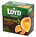 Loyd pyramida Green Tea Orange Mandarine 20 x 2g