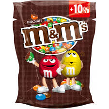 m&ms chocolate bonbóny 150g