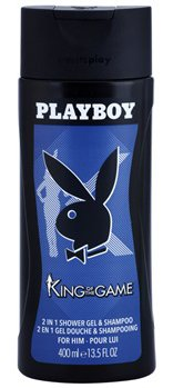 Playboy King of the Game sprchový gel 400 ml