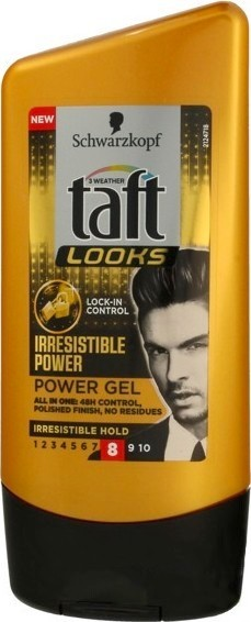 Taft Irresistible Power gel na vlasy 150 ml