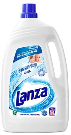 Lanza Sensitive gel hypoalergenní 3,96l - 60 praní