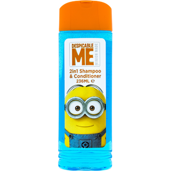 Mimoni 2v1 Despicable Me Šampon a sprchový gel 236 ml
